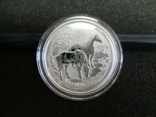 ROLL of  20 COINS 1/2 OZ Perth Mint  .999 SILVER HORSE 2014 LUNAR SERIES