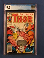 MARVEL COMICS CGC 9.6 THOR 338 12/83 WHITE PAGES