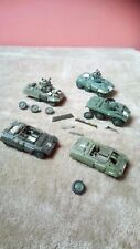 FORD M8 GREYHOUND ARMOURED CARS JOB LOT x5 1/35 BUILT / MADE SPARES OR REPAIR