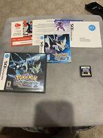 Pokemon: Black Version 2 (Nintendo DS, 2012) %100 Complete -  Box, Manual game!