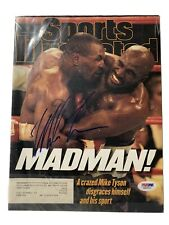 Mike Tyson Signed Sports Illustrated Magazine 7/7/97 Auto PSA DNA COA