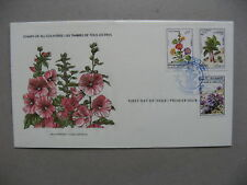 AFGHANISTAN, cover FDC 1982, flower rhubarb vegetable
