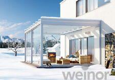 Kubischer Wintergarten Weinor Glasoase Pure 4 x 3 m inkl. Montage