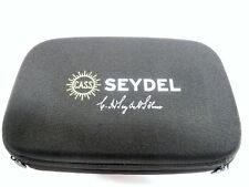 Seydel Hardcover Case for 20 Harmonicas with Shoulder Strap