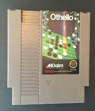 Othello (Nintendo, 1988) NES GAME ! Free shipping !