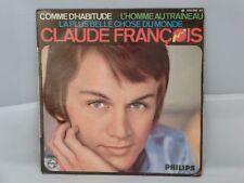 Claude François – Comme D'Habitude / L'Homme Au Traineau              424.550BE