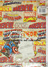 Wrapping Paper 2 Sheets 2 Tags Marvel Comics Avengers Captain America Hero Tags