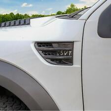 09-14 Ford F150 Raptor SVT Molded Carbon Fiber Side Fender Vent Trim Covers