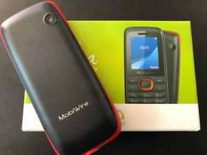 Mobiwire Ayasha Brand New Mobile Phone 1.8 Inch LCD Screen 2G Unlocked Black