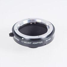 = Vivitar Minolta M MD to C Mount Lens Adapter with Box