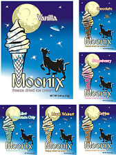 Moonix Freeze Dried Ice Cream (Variety pack, 10ct)
