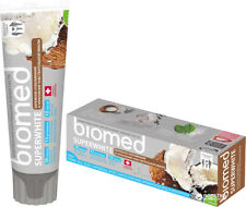 BIOMED SUPERWHITE NATURAL DENTAL TOOTHPASTE 100g