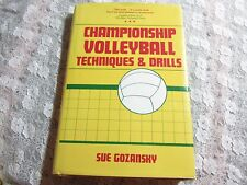 1983 HC Championship Volleyball Techniques and Drills by Sue Gozansky Coaching