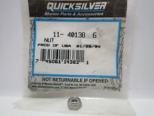 NEW!  Mercury Mercruiser OEM 11-40138 6   NUT  (M6)