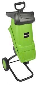 Laptronix 2500W Electric Garden Shredder 50L Mulcher Waste Chipper Compost Mulch