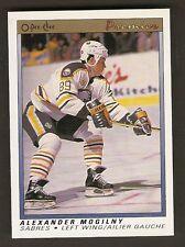 1990-91 OPC O-Pee-Chee Premiere ALEXANDER MOGILNY Rookie #75 Buffalo Sabres