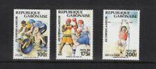Briefmarken Olympische Spiele 1992 Gabun  postfrisch