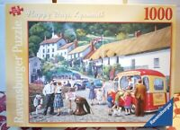 RAVENSBURGER Happy Days Lynmouth 1000 Jigsaw Puzzle Complete 60s Kevin Walsh Ice