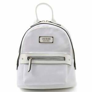 BNEW GUESS His & Hers Small Backpack Bag, White