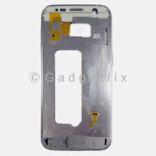 OEM White Samsung Galaxy S7 G930A G930T Middle Housing Frame Bezel Mid Chassis