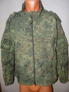 Russia army camo digital flora BTK jacket NAVY marine corps Colonel  NEW sz 52