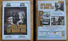 Dvd Mélodie en sous-sol d'Henri Verneuil avec Alain Delon et Jean Gabin