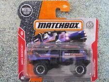 Matchbox 2018 #081/125 RUMBLE RAIDER purple CaseB