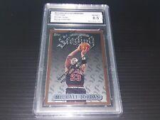1996 Finest w/ coating #50 Michael Jordan Insert MJ Collector Grading Graded 8.5
