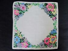 More details for liberty of london handkerchief hanky vintage 1980s printed floral design ladies
