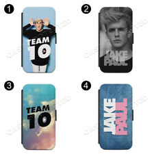 JP Cross-Jake Paul Funda de Teléfono Abatible Billetera Estuche Cubierta iPhone Samsung Galaxy