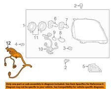 GMC GM OEM 2016 Terrain Headlight Head Light Lamp-Harness 23409890