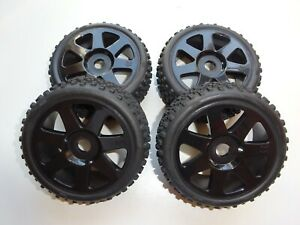 ELECTRIC 1/8 RC BUGGY HPI VORZA FLUX SET OF WHEELS NEW