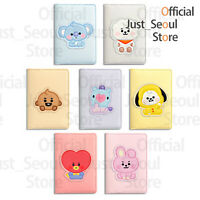 Official BTS BT21 Baby Character Leather Patched Card Case +FreebieTracking KPOP