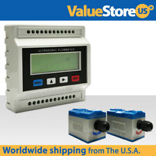 Ultrasonic Flow Meter with Pair of Transducers - Water Flowmeter Kit
