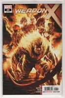 Weapon X Issue #25 Marvel Comics (2018 1st Print)