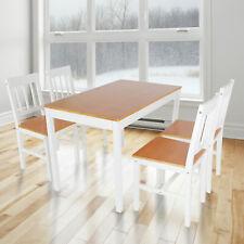 Esstisch mit 4 Stühlen Wohnzimmer Küchentisch Esszimmertisch Tisch Stuhl Set