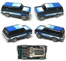 1980 Aurora AFX Magnatraction Flame Thrower Lighted Chevy Blazer Slot Car 1984
