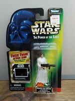Star Wars 1997 POTF2 Freeze Frame A New Hope Princess Leia MOC New Sealed