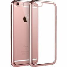 New Bling Silicone ShockProof Case Cover For Apple iPhone 6 6S Rose Gold