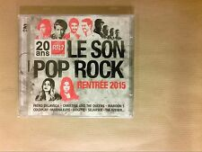 BOITIER 2 CD / RTL2 LE SON POP ROCK RENTREE 2015 / NEUF SOUS CELLO