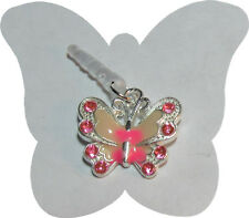 CELL PHONE SMART PHONE DUST PLUG CHARM CUTE PINK BUTTERFLY