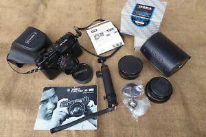 Yashica Electro 35 GT Camera & Yashica Conversion Lens Set & Yashica ST-7 Tripod
