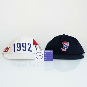 Polo Ralph Lauren 1992 Stadium P Wing Hat White Navy S M L XL Snow Beach