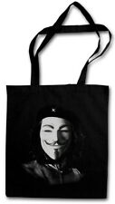 CHE ANONYMOUS GUEVARA STOFFTASCHE We Are Kuba Guerilla Hacker Castro Maske