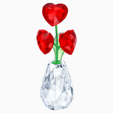 SWAROVSKI CRYSTAL FLOWER DREAMS HEARTS NEW IN BOX