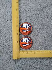 Lot Of 2 Old Rare Vintage New York Islanders Logo Iron On Patches