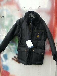 RefrigiWear Mens Insulated Iron-Tuff Workwear Jacket with Fleece Collar