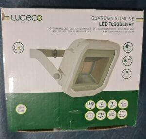 Luceco GUARDIAN SlimLINE 22w White External LED Security Light