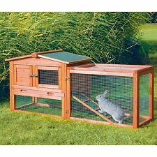Wooden Chicken Coop Hutch Rabbit House Pen Pet Animal Shelter Cage Hen Home New