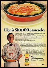 1974 Mazola Corn Oil Chicken Casserole Contest Vintage 1970s Photo Print Ad